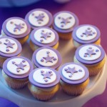 Mini cup cake baby shower