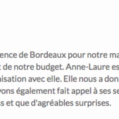 """""""Son professionnalisme est sans faille"""""""