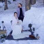 wedding planner lyon, mariage en hiver, mariage à la montagne, mariage, cérémonie laique à la montagne