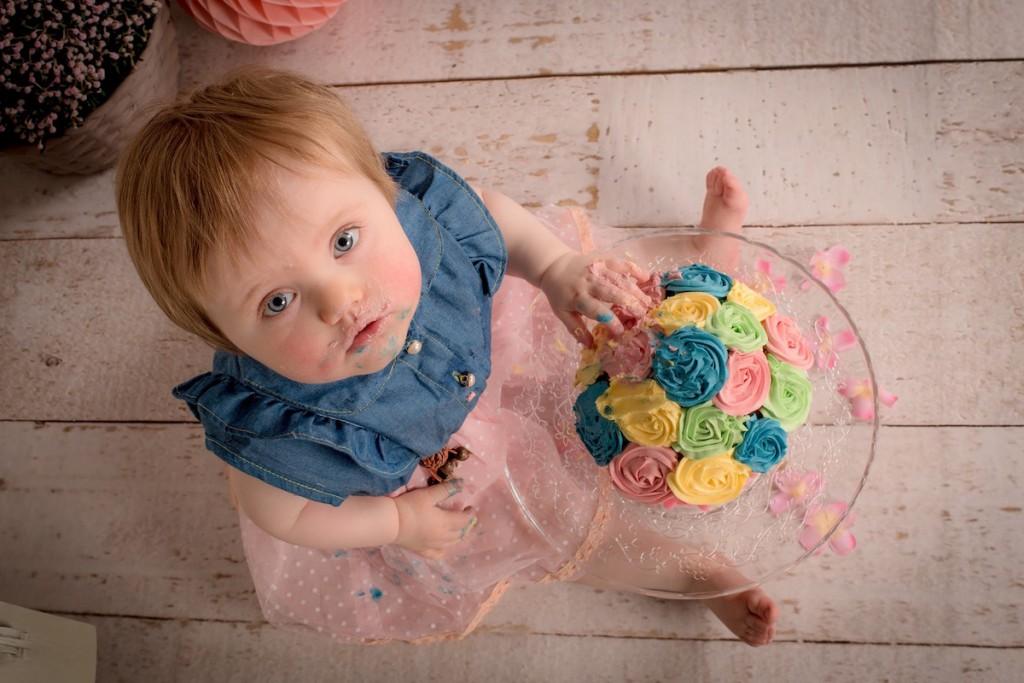 Fêter le premier anniversaire de bébé