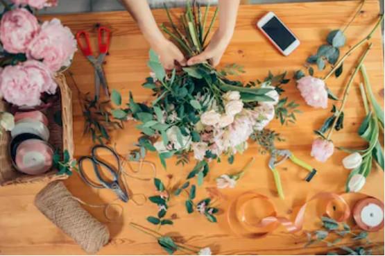 idee originale pour evjf cours de fleurs