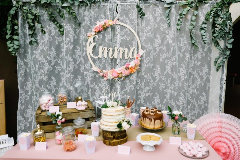 Sweet table anniversaire enfant