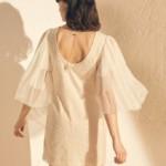 Robe courte manches bouffante - Sessun