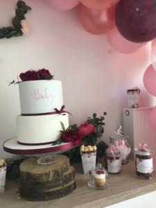 Baby shower - gâteau - design cake - Enjoy Evenements - organisatrice