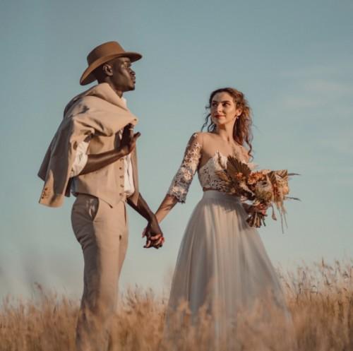 Shooting d'inspiration elopement : fugue amoureuse