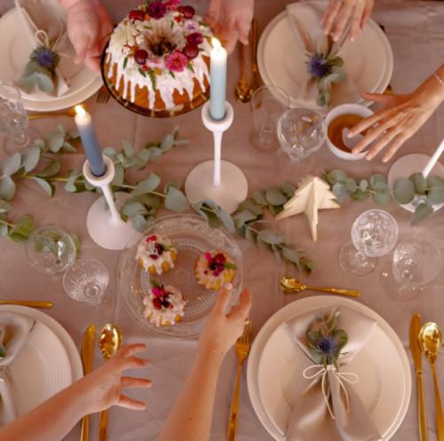 Noël : une décoration de table tendance  scandinave