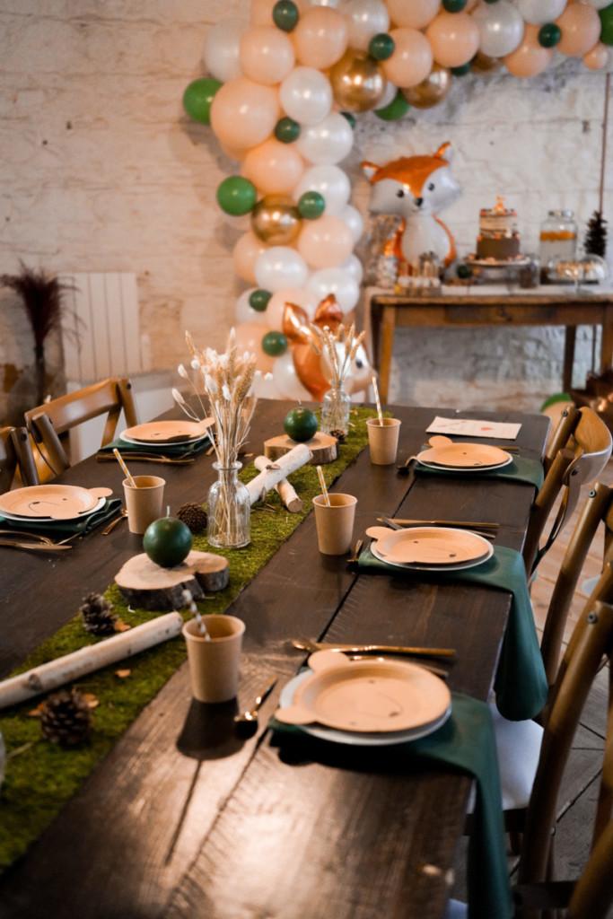 table-goûter-anniversaire-enfants
