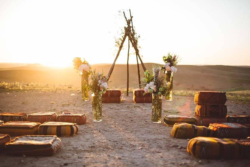 idee decoration ceremonie insolite