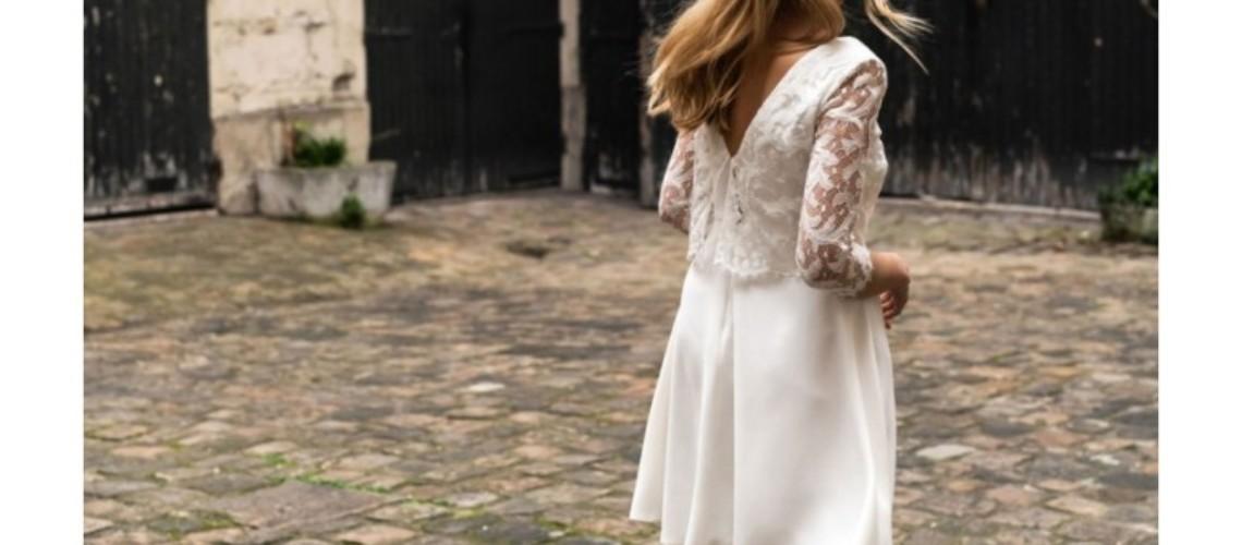 Robe courte civile Harpe Paris
