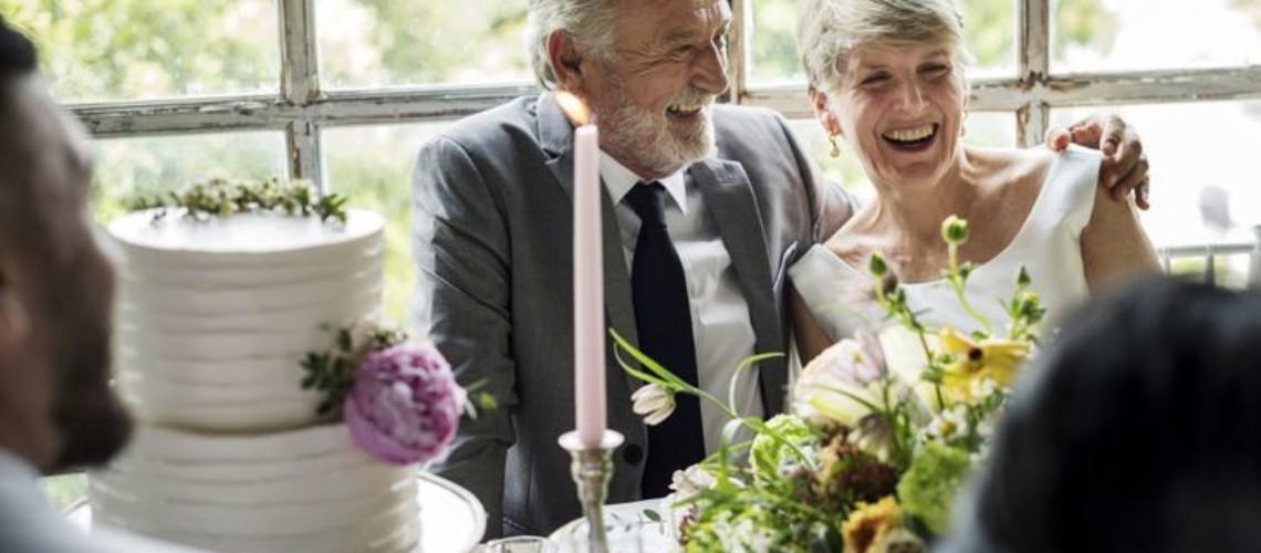 senior wedding